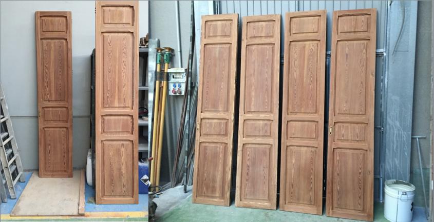 Restaurar madera antigua decapados valencia for Restaurar puertas antiguas